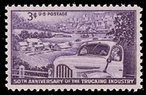 US Stamp #1025 MNH Trucking Industry Single