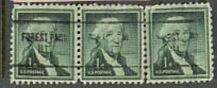 US Stamp #1031×704 Washington w/ Forest Pk., Ill. Precancel