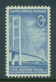US Stamp #1109 MNH Mackinac Bridge Single