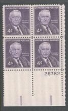 US Stamp #1170 MNH – George – Plate Block of 4