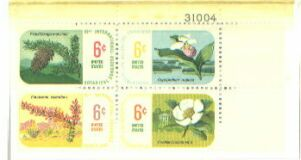 US Stamp #1376-9 MNH – Botannical Congress- Plate Block of 4