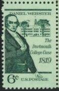 US Stamp #1380 – Daniel Webster – Single