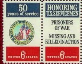 US Stamp #1421-2 MNH Servicemen Se-Tenant Pair