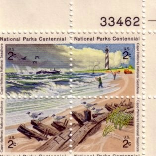 US Stamp #1448-51 MNH – National Parks – Plate Block of 4