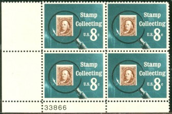 US Stamp #1474 MNH – Stamp Collecting – Plate Block of 4
