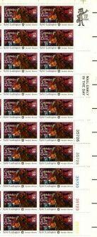US Stamp #1559 MNH Sybil Ludington Plate/ZIP/ME Block 20