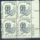 US Stamp #1581 MNH – Pen/Inkwell – Plate Block of 4