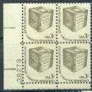 US Stamp #1584 MNH – Ballot Box/Dull Gum – Plate Block of 4
