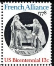US Stamp #1753 MNH French Alliance Single