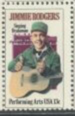 US Stamp #1755 MNH Jimmie Rodgers Single