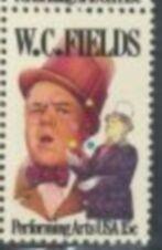 US Stamp #1803 MNH W.C. Fields Single