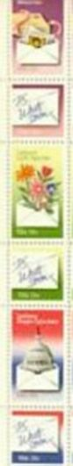 US Stamp #1805-10 MNH – Letter Writing – Se-Tenant Strip of 6