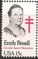 US Stamp #1823 MNH Emily Bissell Single