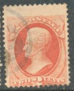 US Stamp # 183 – Andrew Jackson – American Bank Note Issue