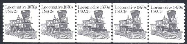 US Stamp #1897A MNH Locomotive Coil PS5 #8