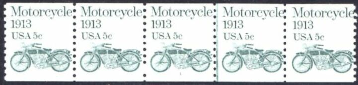 US Stamp #1899 MNH – Motorcycle PS5 #1 Coil