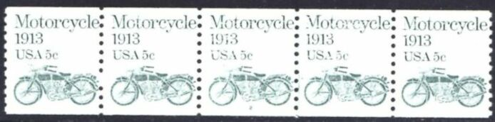 US Stamp #1899 MNH – Motorcycle PS5 #2 Coil