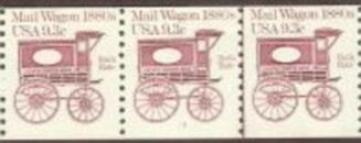 US Stamp #1903 MNH – Mail Wagon Coil PS3 #3