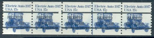US Stamp #1906a MNH – Electric Auto Precancel Coil PS5 #4