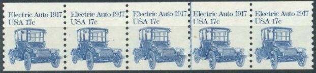US Stamp #1906 MNH Electric Auto Coil PS5 #2 T/B