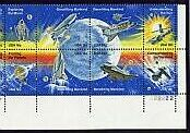 US Stamp #1912-19 MNH – Space Achievement – Plate Block / 8