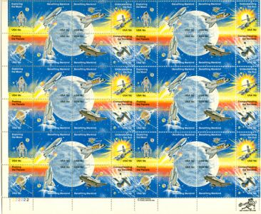 US Stamp #1912-19 MNH Space Achievement Full Sheet