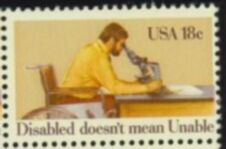 US Stamp #1925 MNH Year of Disabled Single