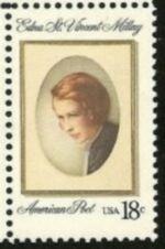 US Stamp #1926 MNH Edna Millay Single