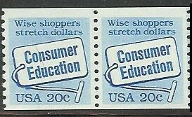 US Stamp #2005 MNH – Consumer Education Coil Pair