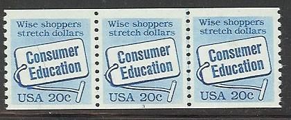 US Stamp #2005 MNH – Consumer Education PS3 #1