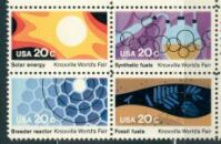 US Stamp #2006-9 MNH -Knoxville World Fair- Block of 4