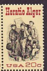 US Stamp #2010 MNH Horatio Alger Single