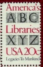 US Stamp #2015 MNH America's Libraries Single