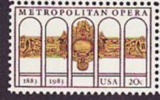 US Stamp #2054 MNH Metropolitan Opera Single
