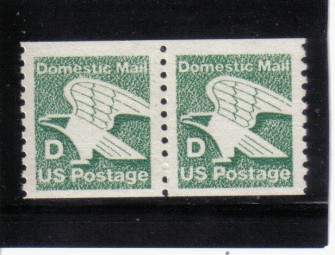 US Stamp #2112 MNH – Stylized Eagle -D- Rate Pair