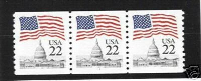US Stamp #2115a MNH – Flag Over Capitol – PNC3 #7