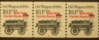 US Stamp #2130a MNH – Oil Wagon Precancel Coil PS3 #2