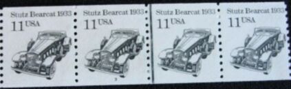 US Stamp #2131 MNH Stutz Bearcat Coil PS4 #3