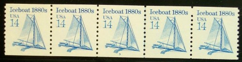 US Stamp #2134b MNH – Iceboat Coil PS5 #2