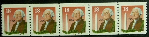 US Stamp #2149 MNH Washington and Bunker Hill Monument PNC5 #3333