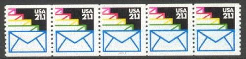 US Stamp #2150 MNH – Envelopes – PNC5 #11111