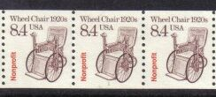 US Stamp #2256 MNH – Wheel Chair Coil PS3 #1