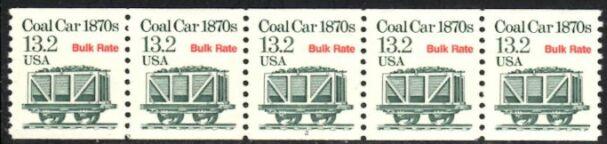 US Stamp #2259 MNH – Coal Car Coil PS5 #1