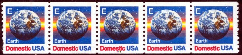 US Stamp #2279 MNH – Earth 'E' Rate – PS5 #1211