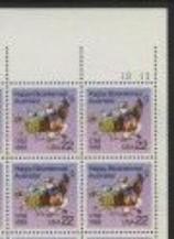 US Stamp #2370 MNH – Australia Bicentennial – Plate Block of 4