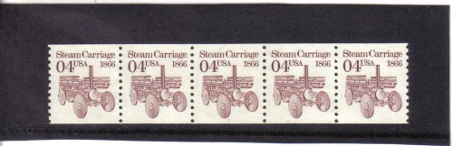 US Stamp #2451 MNH – Steam Carriage Coil PS5 #1