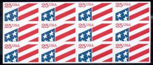 US Stamp #2475a MNH – Flag Self Adhesive Pane