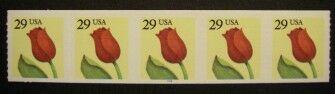 US Stamp #2525 MNH – Tulip PNC5 #S2222