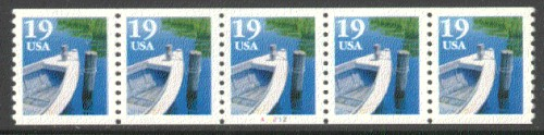 US Stamp #2529 MNH – Fishing Boat PNC5 #A2424