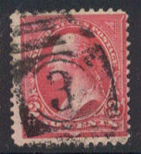 US Stamp # 267 – Washington – Bureau 1895 Issue